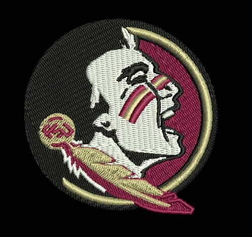 FSU -Florida State University (Seminoles) Embroidered Patch