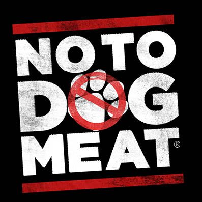 "In South Korea over 2.5 million dogs are eaten annually, while China consumes close to 5 million dogs. There is no excuse for any country to practice barbaric methods. Next month, China has organized a week long dog slaughtering festival and NoToDogMeat has tried to stop the festival. We have to shame them in order to stop this,"" Support NoToDogMeat today. Sign the petition, follow them on Facebook, on Twitter, visit their site, donate or support their fundraises.:"