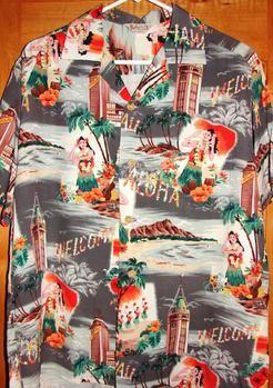 1950s Aloha shirt by Iolani of Hawaii