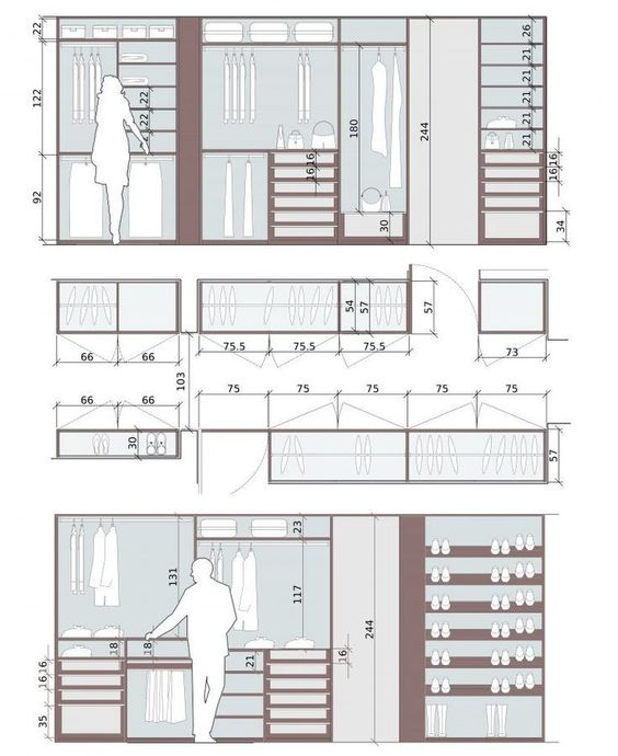 Interiors Dimensions Closet Layout Closet Designs Bedroom Closet Design