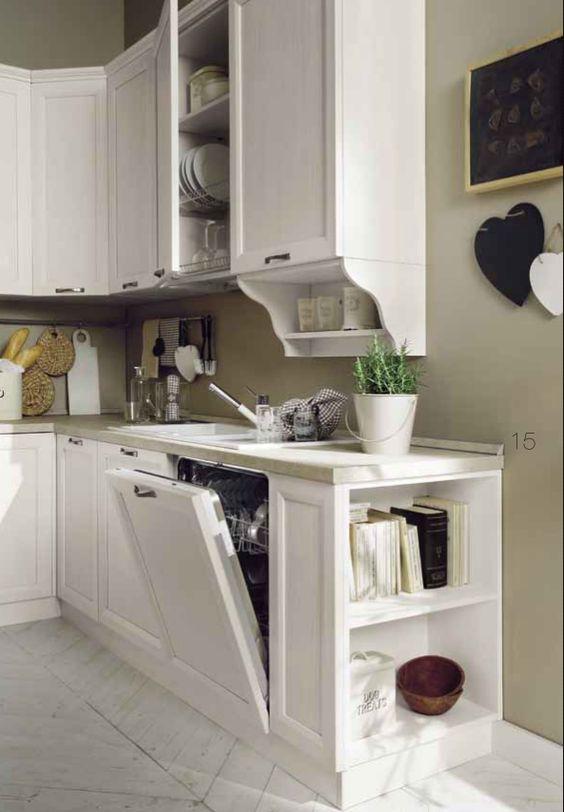 Cucina in legno massiccio personalizzabile su misura - Cucina particolare ...