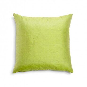 Varanasi Chartreuse Silk Dupioni Pillow
