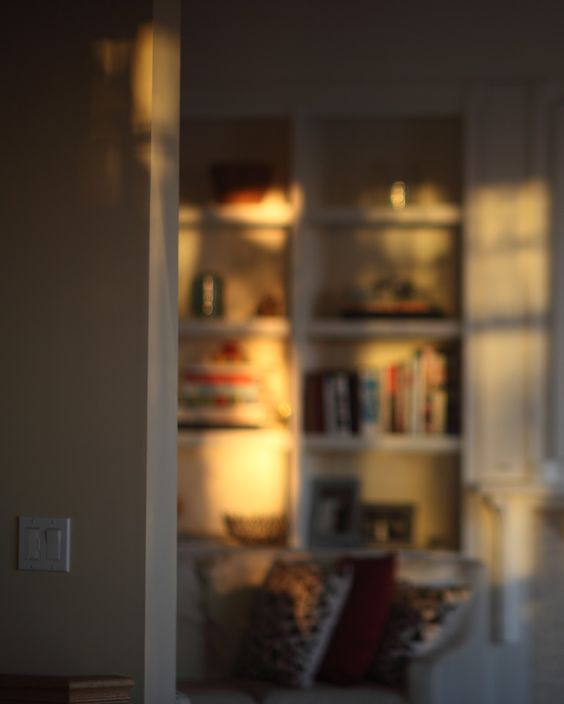 Those places the light hits in your home that no one else notices...but that mesmerize and hold you still for a moment: