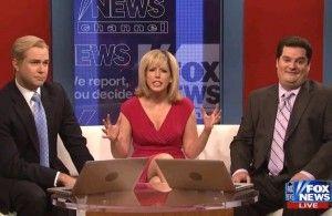 SNL Thursday Edition Mocks Fox & Friends For Sugarcoating Romney Gaffes