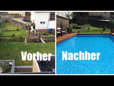 Intex Metal Ultra Frame Pool Mit Pooldeck 975x488x132 Youtube Pool Pool Im Garten Pool Ideen