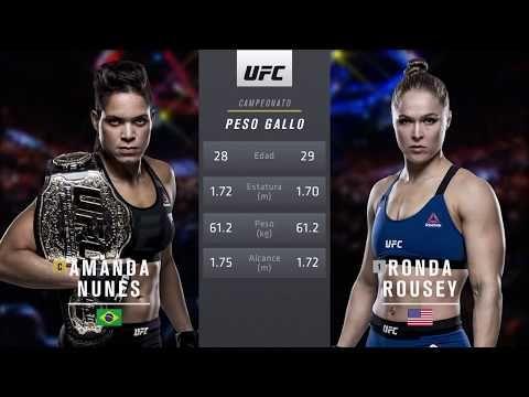 Ufc 224 Pelea Gratis Amanda Nunes Vs Ronda Rousey Youtube