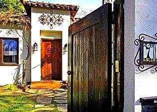 Grand entryway.