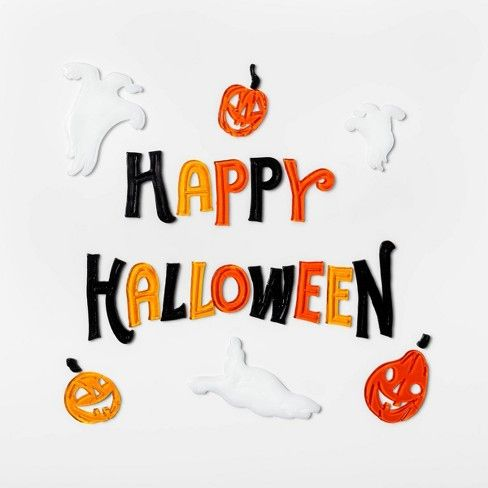 Happy Halloween We Hope You All Have A Great Day Happyhalloween Happyholiday Halloween Window Happy Halloween Pictures Halloween Window Clings