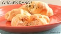 Chicken Ranch Roll-Ups Recipe