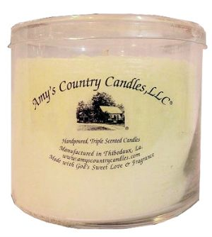 Amy's Country Candles® Gardenia 21 oz. Candle Bowl is 21 ounces of pure bliss! Experience the heady, intoxication aroma of gardenias with this fragrance. Gardenia blends notes of Violet and Green Leaves, with light Berry tones and a hint of Spicy Cloves. Our Gardenia is burned at the Ritz Carlton Hotel in New Orleans! #ritzcarlton #nola #neworleans #louisiana #gardenia #candle #amyscountrycandles #light #ambiance #floral #shoptoday #giftware #housewarming #homedecor #home #accents