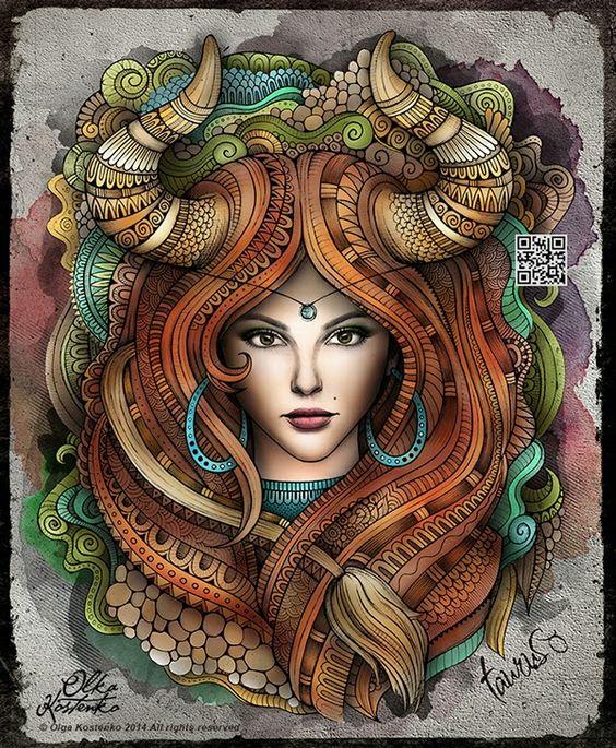 Dalla Blog: ilustrações zodiacais