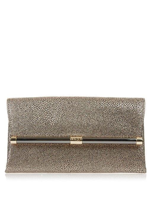 DIANE VON FURSTENBERG 440 Envelope Clutch. #dianevonfurstenberg #bags #leather #clutch #lining #hand bags