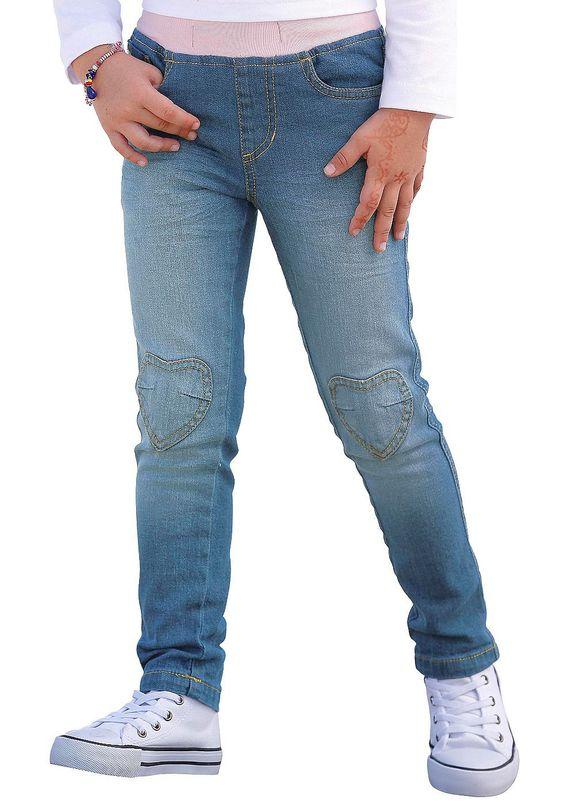 Produkttyp , Schlupfjeans, |Qualitätshinweise , Hautfreundlich Schadstoffgeprüft, |Materialzusammensetzung , Obermaterial: 98% Baumwolle, 2% Elasthan, |Material , Jeans, |Farbe , light blue, |Passform , Schmale Form, |Beinform , schmal, |Beinlänge , lang, |Leibhöhe , normal, |Schnittdetails , Kniepatches, |Bund + Verschluss , Rundum-Gummizug, |Taschenanzahl , 5, |Vorder- und Seitentaschen , Ein...