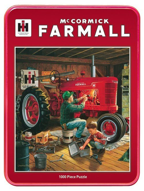 Forever Red 1000pc Jigsaw Puzzle Tin By Masterpieces Forever