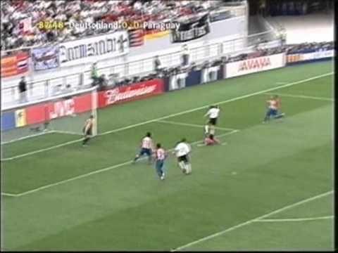 WM 2002 - Achtelfinale- Deutschland-Paraguay 1:0-Video