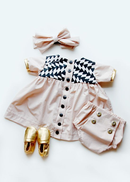 baby dress see kate sew: Cute Baby Dress, Babygirl, Baby Outfits, Baby Girl Outfit, Baby Clothes, Baby Style, Baby Dresses, Baby Fashion, Cute Kids Outfit