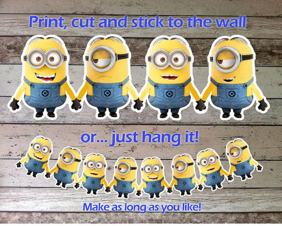 d co pour anniversaire enfant th me minions anniversaire minions pinterest. Black Bedroom Furniture Sets. Home Design Ideas