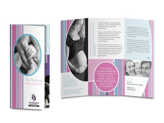 Fertility Flyer Flyers   Brochures Pinterest Brochures - music brochure