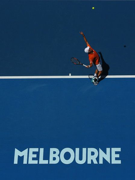 Kei Nishikori Photos - 2016 Australian Open - Day 1 - Zimbio