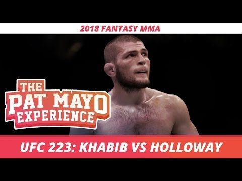 2018 Fantasy Mma Ufc 223 Draftkings Preview Fight By Fight Picks Rousey At Wrestlemania 34 Ufc Mma Fantasy