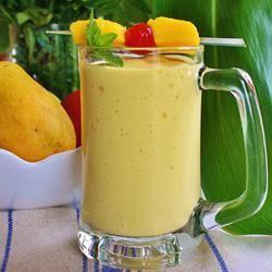 Easy Mango Banana Smoothie