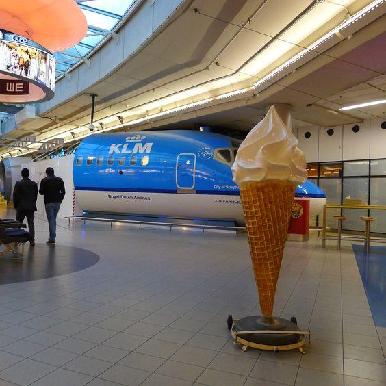 Schiphol Ice Cream cone