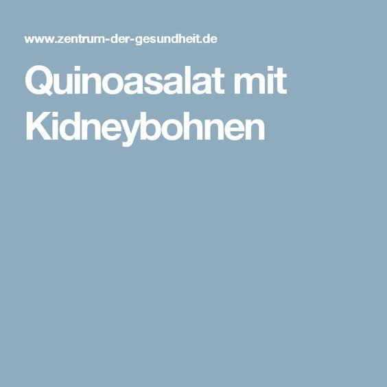 Quinoasalat mit Kidneybohnen