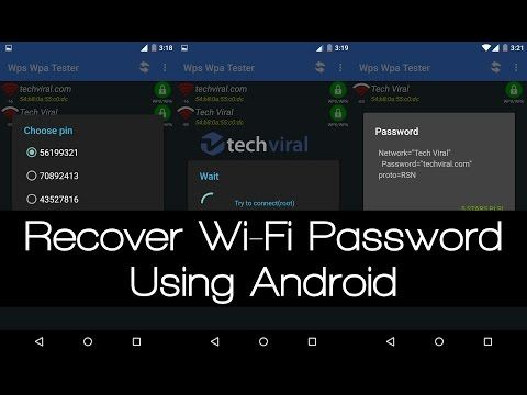 How to Hack WiFi Password On Android (Without Root)