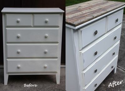 Target Dresser turned Vintage Treasure! Eaaaasy, cheap DIY furniture.