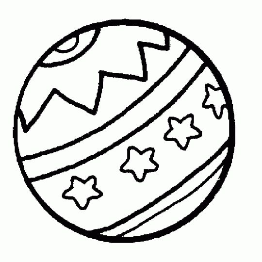 pelota para colorear  pintar