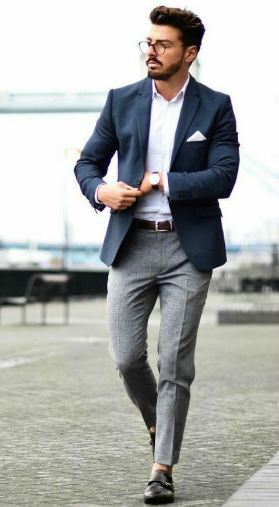 21 Dashing Formal Outfit Ideas For Men Mens Fashion Blazer Blazer Outfits Men Formal Mens Fashion