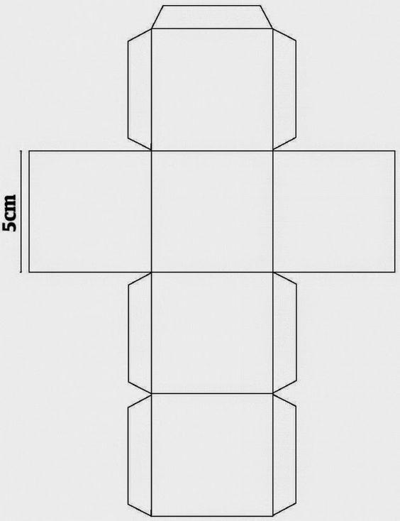 cubo de papel