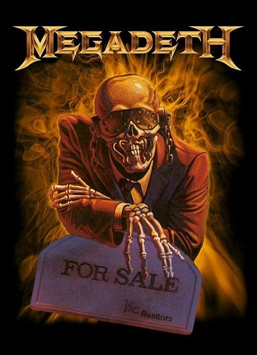 Pin By Tommy Crow On Megadeath Art Heavy Metal Bands Art Metal Music Bands Rock Poster Art