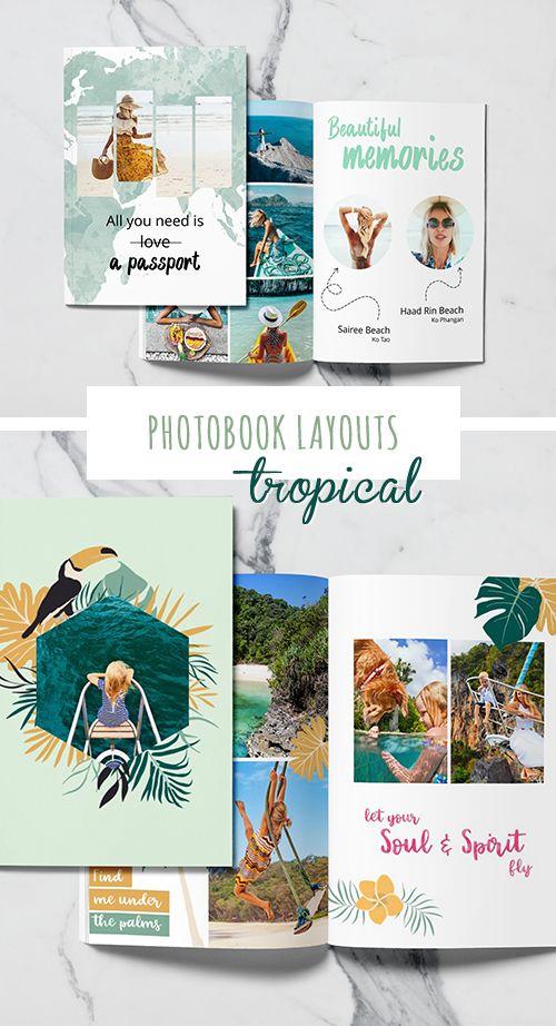 Free Travel Templates Fotobuch Fotobuch Gestalten Urlaubsfotos
