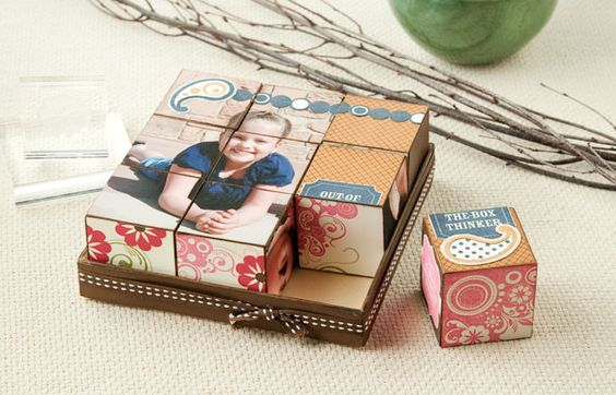 Get an exclusive E-size stamp set and the My Creations® Collage Cubes for just $15 with your qualifying purchase. #CTMH