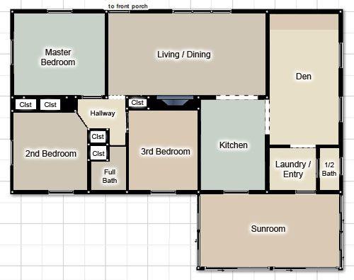Figuring out a whole house paint palette paint colors for Good paint color for whole house
