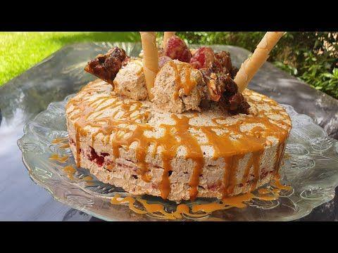 احلى و الذ ايس كريم Glace الافراح والمناسبات براليني والفريز معلك Youtube Food Desserts Cake
