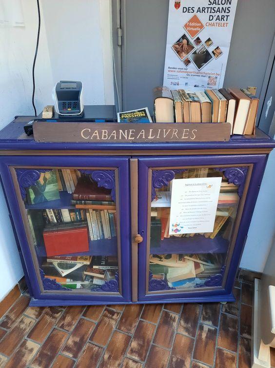 Cabane à livres Châtelet