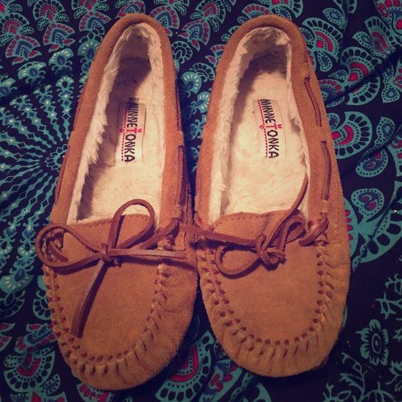 FLASH SALE!! Minnetonka Flats! In great shape!! Worn only a few times! Minnetonka Shoes Flats & Loafers