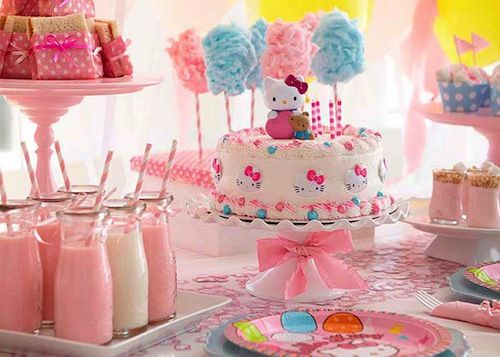 Girls birthday party themes birthday party themes and for Baby girl birthday party decoration ideas