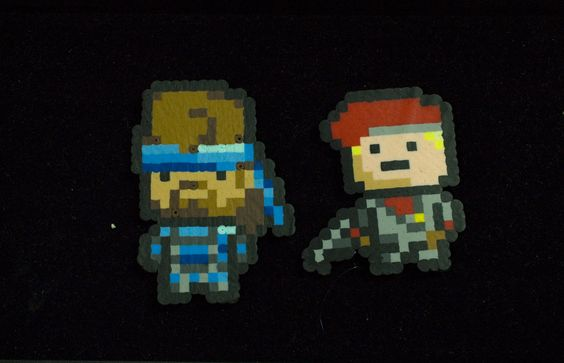 Image of Metal Gear Solid Magnets By KAT KUSTOMS