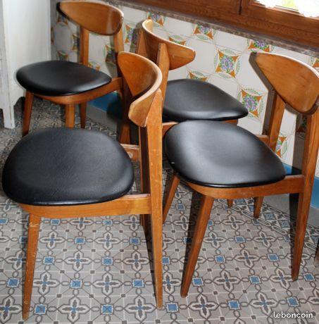 Lot De 4 Chaises Style Suedois Idees De Decor Decoration Maison 4 Chaises