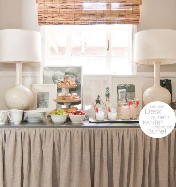 desk buffet-