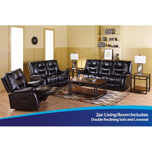 Amalfi Thor 2 Piece Sofa and Loveseat in Black   For the Home   Pinterest    Living room furniture  Living rooms and Bath. Amalfi Thor 2 Piece Sofa and Loveseat in Black   For the Home