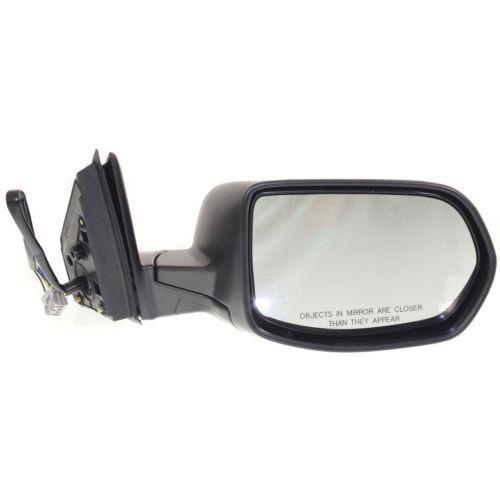 2007-2011 Honda CR-V Mirror RH, Power, Heated, Manual Folding, Textured Black