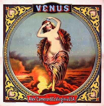 Venus | Tobacco retro advert | http://defharo.com