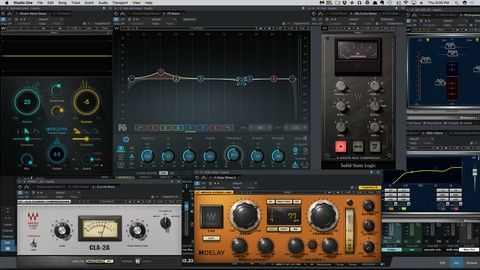 Audio Engineering Mixing With Waves Plugins Waves Plugins Plugins Waves
