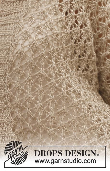 Drops Patterns Knitting : Drops patterns, Drops design and Lace knitting on Pinterest