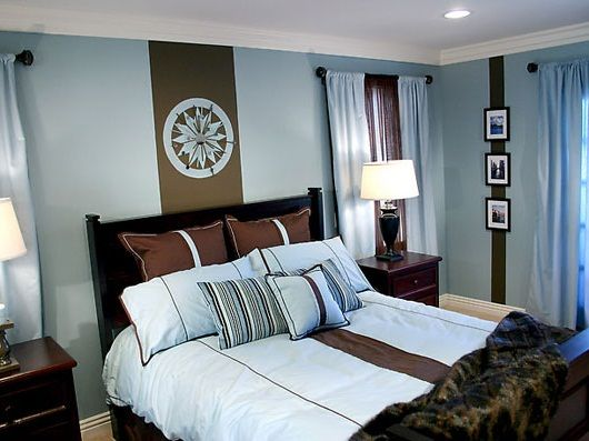 Colors 5 Blue Brown Bedrooms Bedroom Blue Nice Bedroom White Bedrooms