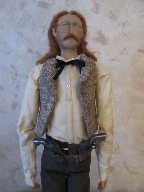 Wild Bill Hickok...Born in Illinois....Artist, Laurie Ragan, Ottawa, Illinois